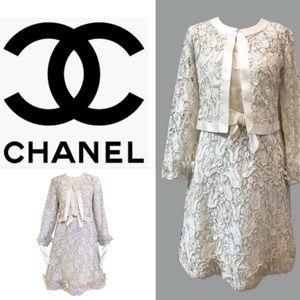 Pt 1 CHANEL 1960s 💯% authentic wedding dress